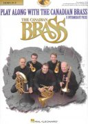 Play Along with the Canadian Brass (intermediate) + CD  lesní roh (f horn)
