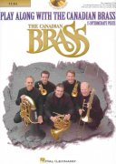 Play Along with the Canadian Brass  (intermediate) + CD /  tuba