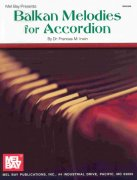 BALKAN MELODIES for Accordion / akordeon