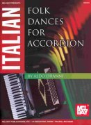 ITALIAN FOLK DANCES for Accordion / akordeon