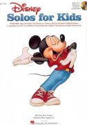 DISNEY Solos for Kids + Audio Online   vocal & piano/chords