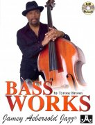 BASS WORKS by Tyrone Brown + CD solos, duets & trios for acoustic bass or bass guitar