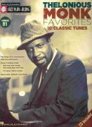 Jazz Play Along 91 - Thelonious Monk Favorites + CD