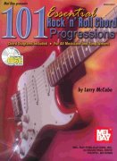 101 Essential Rock'n' Roll Chord Progressions + CD kytara