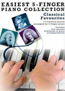 EASIEST 5-FINGER PIANO COLLECTION - CLASSICAL FAVORITES