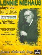 LENNIE NIEHAUS: Plays The Blues + CD  Eb instruments
