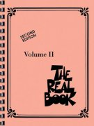 THE REAL BOOK II - C edtiton - melodie/akordy