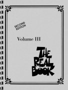 THE REAL BOOK III - C edition - melodie/akordy