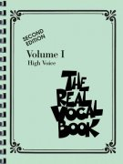 THE REAL VOCAL BOOK I - High Voice - vocal/chords