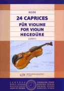 24 Caprices for Violin by J.P. Rode