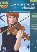 VIOLIN PLAY-ALONG 17 - CHRISTMAS FAVORITES + CD