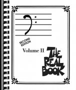THE REAL BOOK II - Bass Clef edition - melody/chords