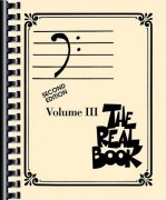 THE REAL BOOK III - Bass Clef edition - melody/chords
