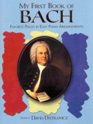 A First Book of BACH - easy piano