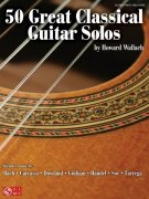 50 Great Classical Guitar Solos / kytara + tabulatura