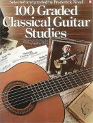 100 Graded Classical Guitar Studies / kytara