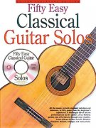 Fifty Easy Classical Guitar Solos + CD / jednoduchá kytara + tabulatura