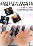 EASIEST 5-FINGER PIANO COLLECTION - ELTON JOHN