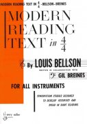Modern Reading Text in 4/4 by Louis Bellson for All Instruments