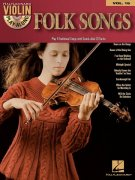Violin Play-Along 16 - FOLK SONGS + CD