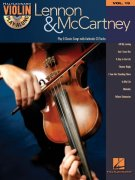 VIOLIN PLAY-ALONG 19 - LENNON & McCARTNEY + CD