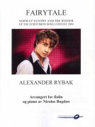 FAIRYTALE by RYBAK ALEXANDER - housle a piano
