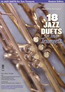 18 Jazz Duets for Two Trumpets + Audio Online / dvě trumpety