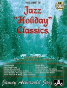 AEBERSOLD PLAY ALONG 78 - Jazz Holiday Classics + CD