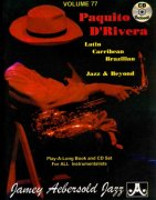 AEBERSOLD PLAY ALONG 77 - PAQUITO D'RIVERA + CD